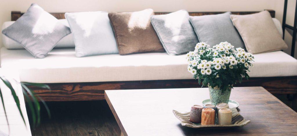 Wp Sofa and Small Table